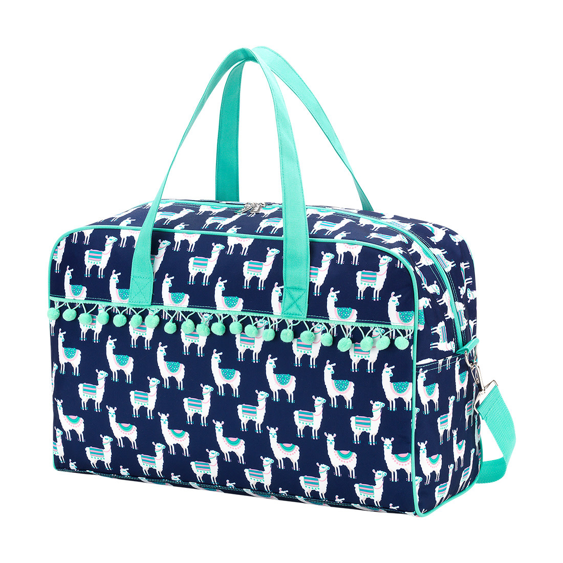 Llama Monogrammed Travel Bag Monogram Included