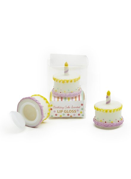 Two's Company Birthday Cake Lip Gloss