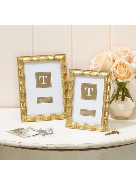 Two's Company Golden Bee Frames - 2 Sizes