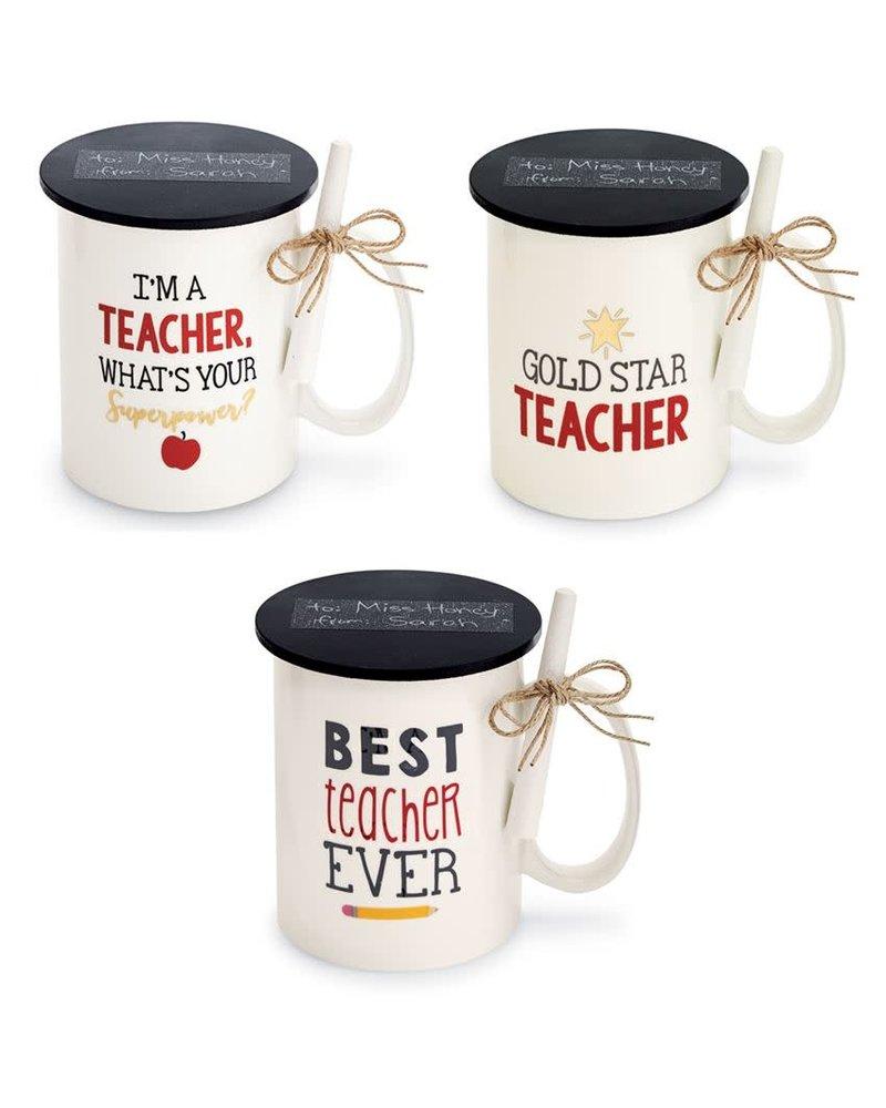 Mudpie Teacher Mug With Chalk