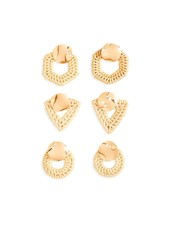 Two's Company Woven Straw Earrings - 3 Shapes