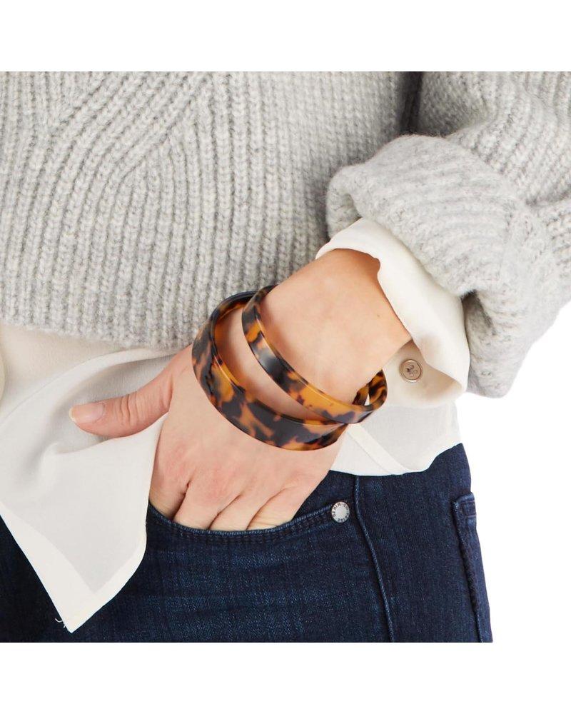 Two's Company Sahara Tortoise Cuff Bracelets