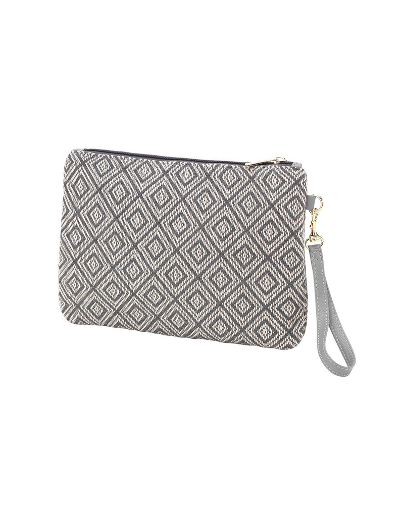 Wholesale Boutique Monogramed Diamond Wristlet