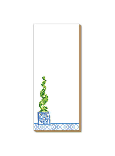 Roseanne Beck Spiral Topiary Luxe Skinny Pad
