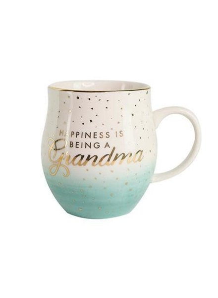Mary Square Happiness Is Being a Grandma Ombre Mug