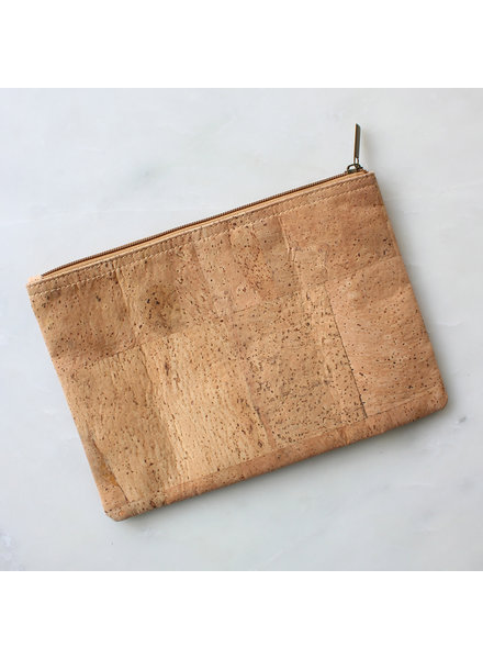 ROYAL STANDARD Monogrammed Cork Cosmetic Pouch