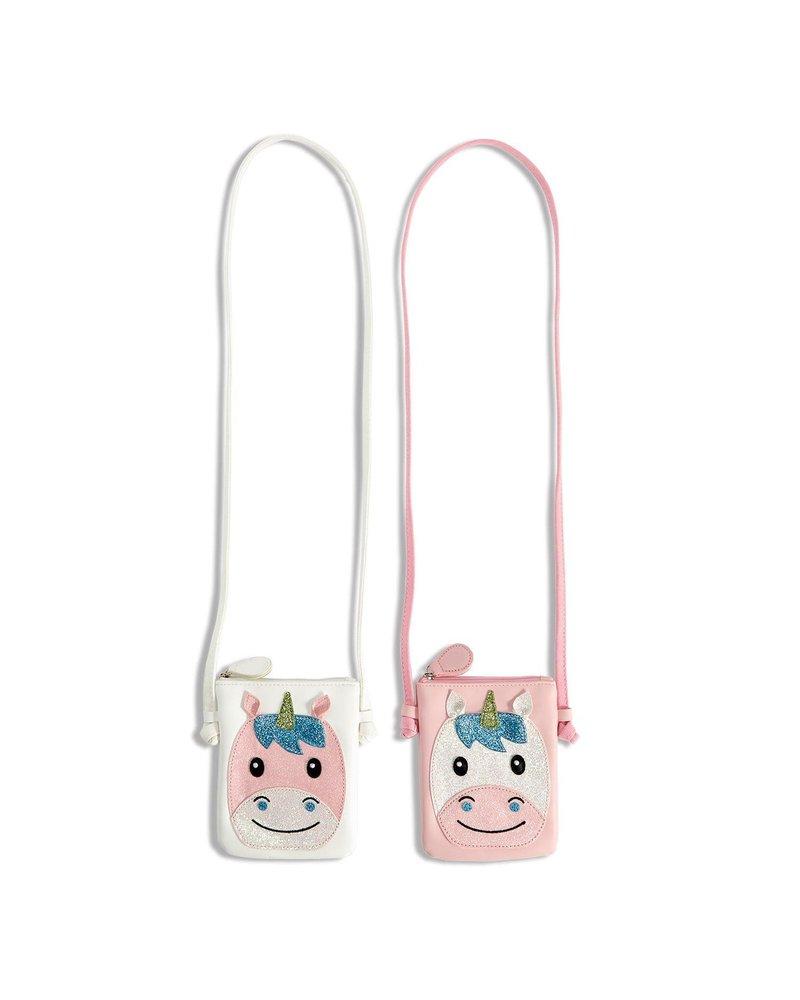 Two's Company Monogrammed Unicorn Crossbody Bag