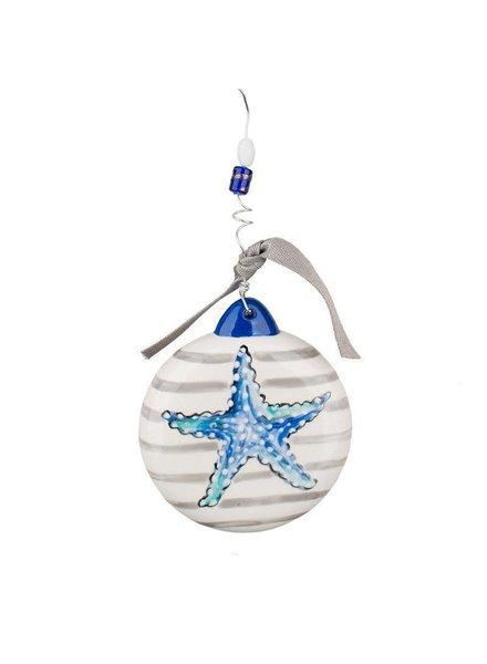 Glory Haus Personalized Starfish Ornament