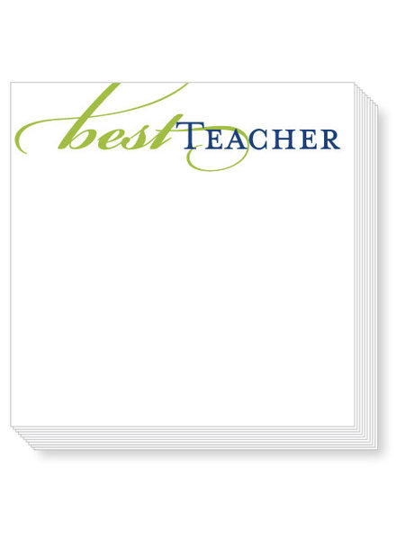 Roseanne Beck Best Teacher Mini Notepad