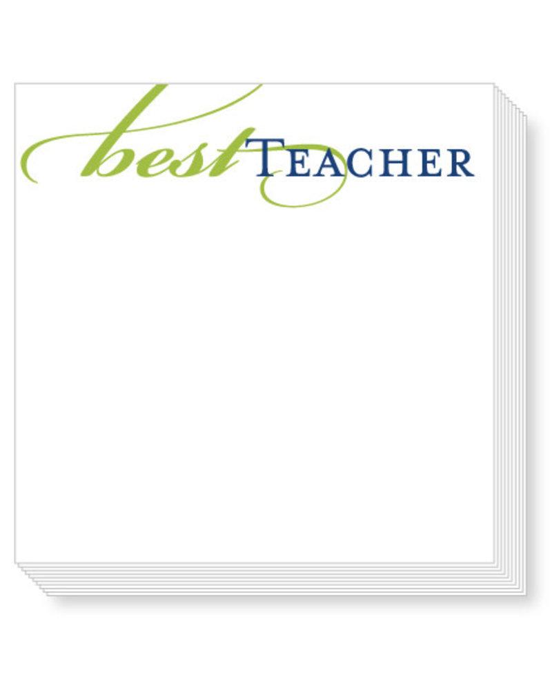 Roseanne Beck Best Teacher Mini Notepad