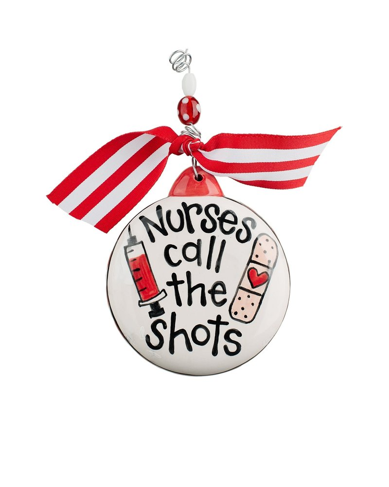 Glory Haus Personalized Nurse Ornament