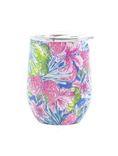 Lilly Pulitzer Lilly Stainless Steel Wine Glass - Swizzle In
