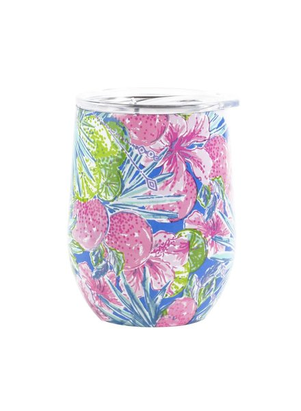 Lilly Pulitzer Lilly Pulitzer Stainless Wine Glass - Swizzle In