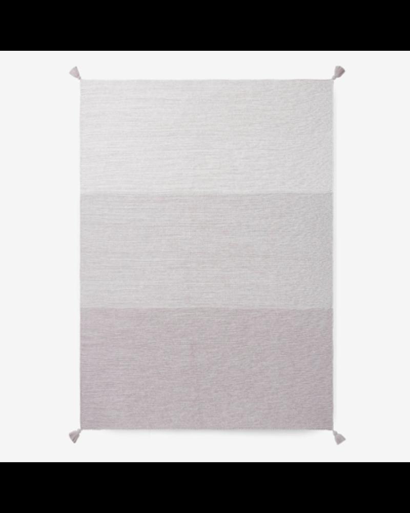 Elegant Baby Monogrammed Ombre Baby Blanket