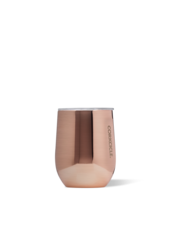 CORKCICLE Copper Metallic Stemless Wine