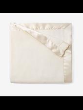 Elegant Baby Monogrammed Cream Baby Blanket