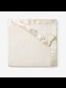 Elegant Baby Monogrammed Cream Fleece Baby Blanket
