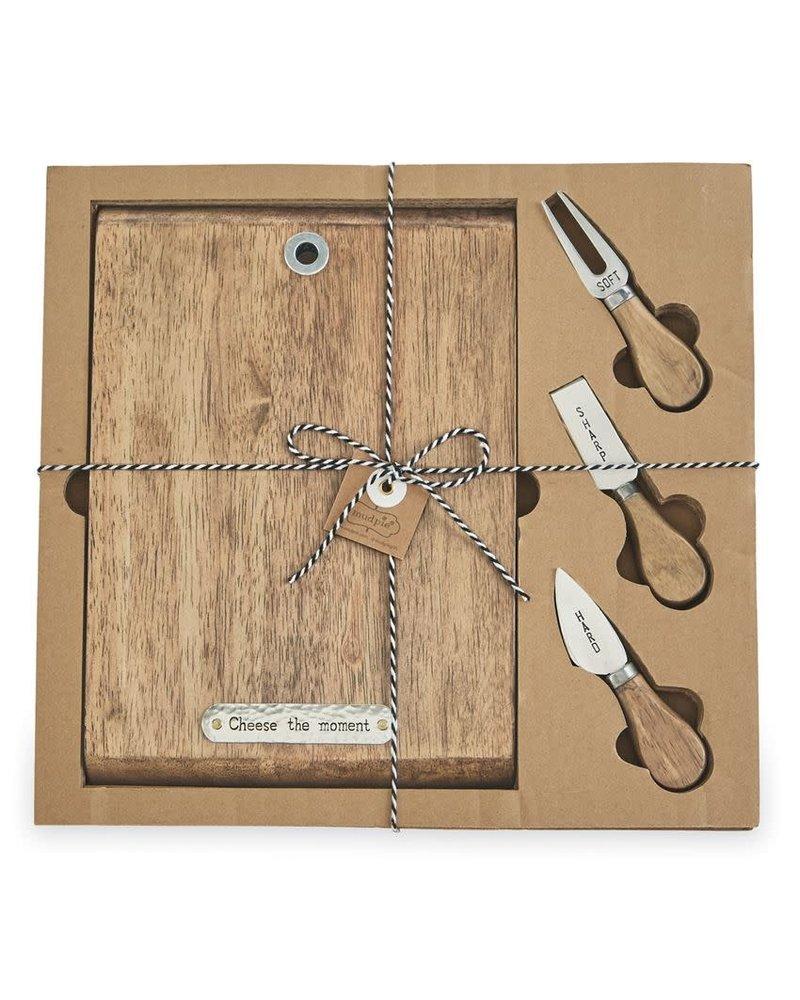 Mudpie Mudpie Cheese Board & Knife Set