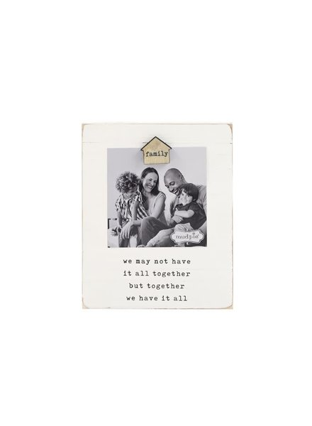 Mudpie Family Home Magnet Picture Frame