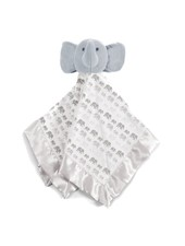 Magnetic Me Grey Elephants Lovey Blanket