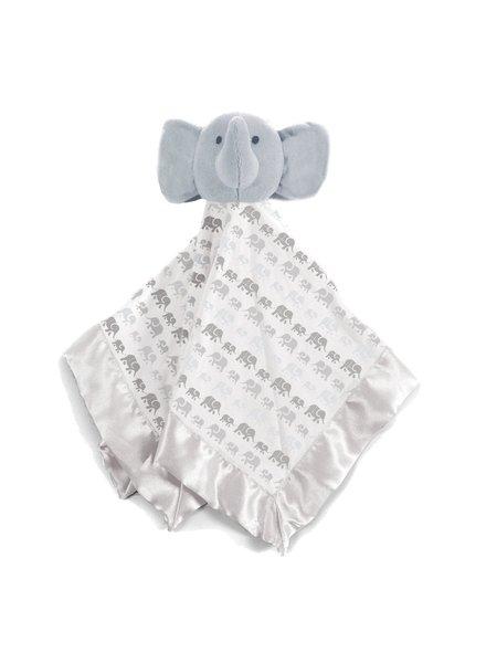 Magnetic Me Grey Elephants Lovey Blanket