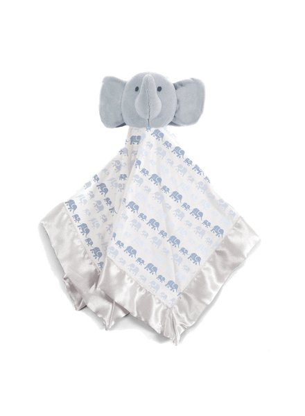 Magnetic Me Blue Elephants Lovey Blanket
