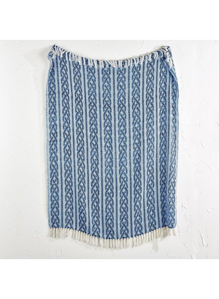 Two's Company Tassel Throw Blankets - 3 Patterns