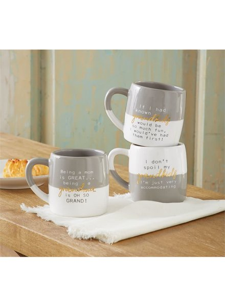 Mudpie Funny Grandparent Mugs