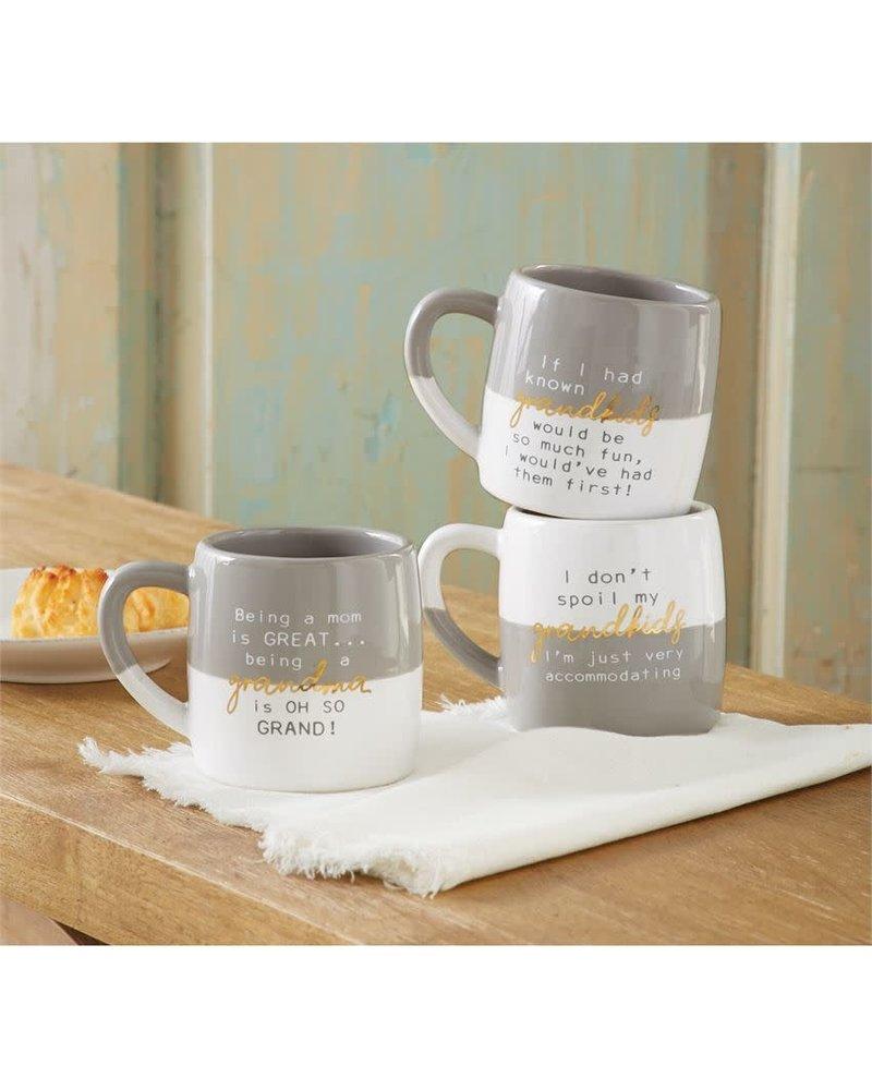 Mudpie Funny Grandparent Mugs