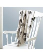 Mudpie Personalized Elephant Baby Blanket