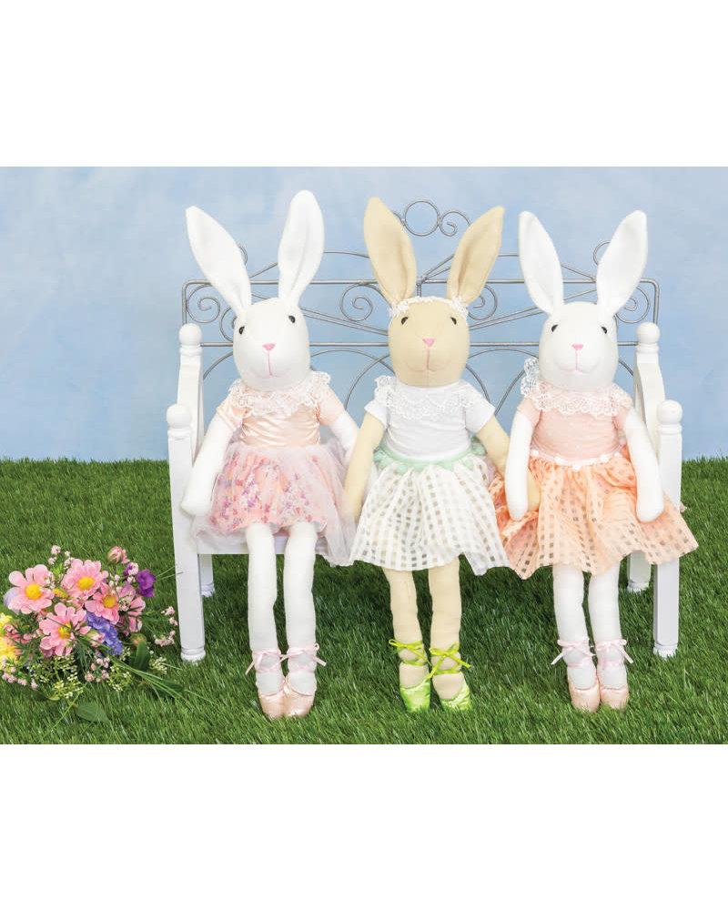 Hannah's Handiworks Dangle Leg Tutu Bunny
