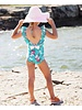 Ruffle Butts Fancy Me Floral One Piece Bathing Suit