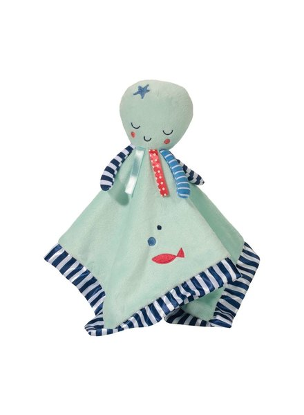 Douglas Baby Octopus Monogrammed Lovey