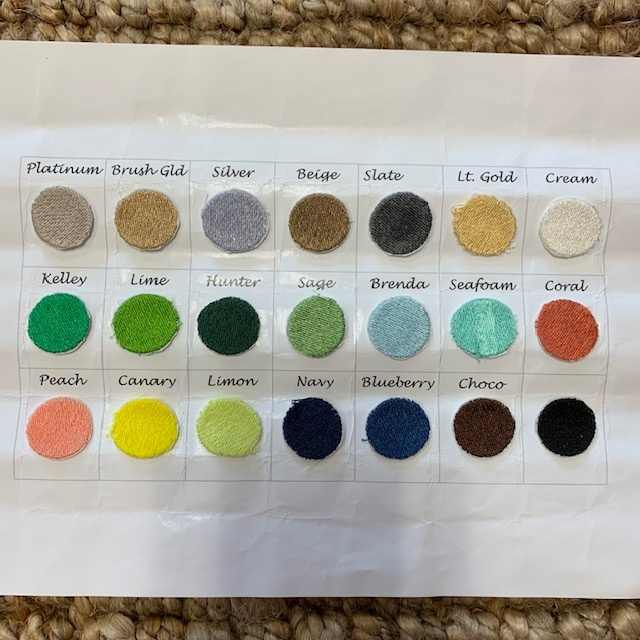 Embroidery Thread Colors 2