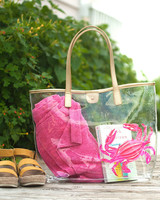 Wholesale Boutique Crab Clear Tote