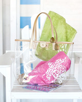 Wholesale Boutique Turtle Clear Tote