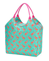 Wholesale Boutique Monogrammed Flamingo Beach Bag