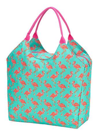 Wholesale Boutique Monogrammed Flamingo Beach Bag