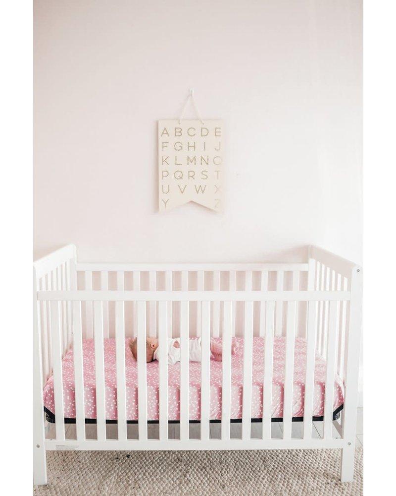 Copper Pearl Copper Pearl Crib Sheet - Lucy