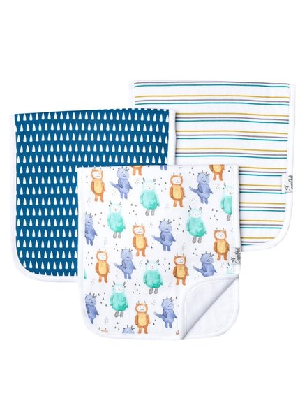 Copper Pearl Wild Things Burp Cloths