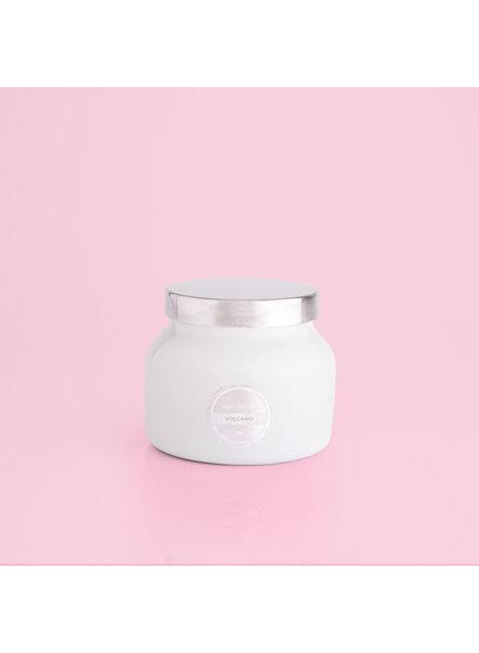 Capri Blue Volcano Candle Petite White Jar
