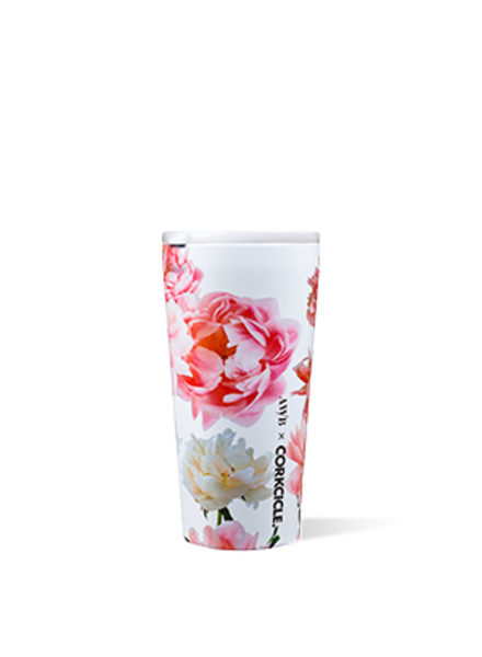CORKCICLE Ashley Woodson Floral Tumbler 16 oz