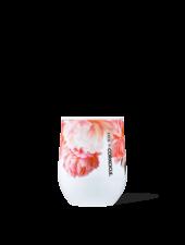 CORKCICLE Floral Ashley Woodson Stemless Wine