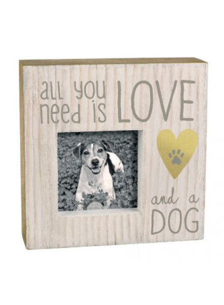 Grasslands Road All You Need Is Love & A Dog Frame