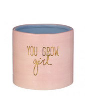 Grasslands Road You Grow Girl Planter