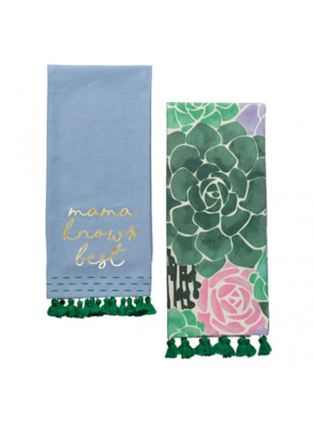 Grasslands Road Mama Knows Best Dish Towels