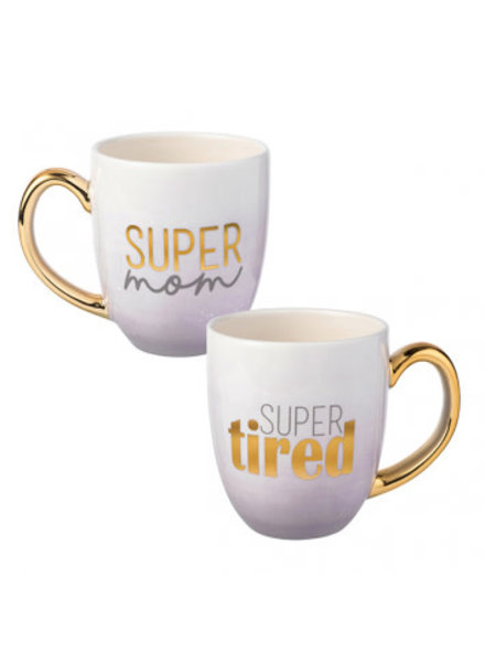 Grasslands Road Super Mom Super Tired Mug