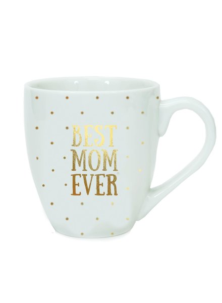 Mary Square Mary Square Ceramic Mug - Best Mom Ever