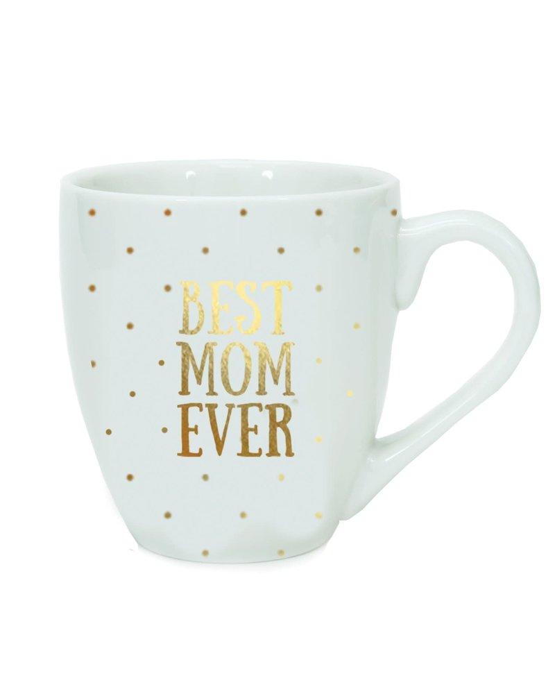 Mary Square Mary Square Ceramic Mug - Best Mom Ever