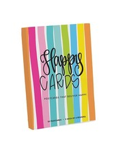 Mary Square Happy Cards Postcard Book